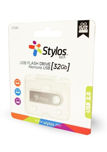 Stylos * memoria usb 32gb 2.0 metal original nueva mayoreo