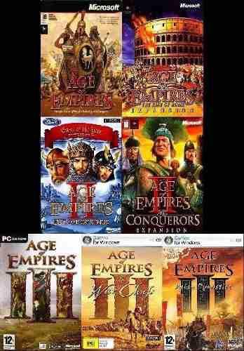 Age of empires envio gratis saga completa juegos de pc