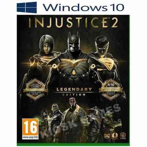 Injustice 2 legendary edition - pc windows 10 - online