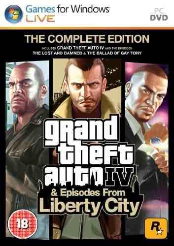 Juegos,grand theft auto iv edición completa (versión de..