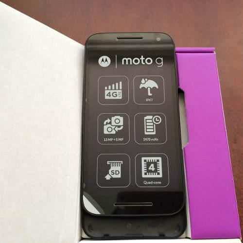 Motorola g 3 xt1540 negro nuevo libre $3300 con envío.