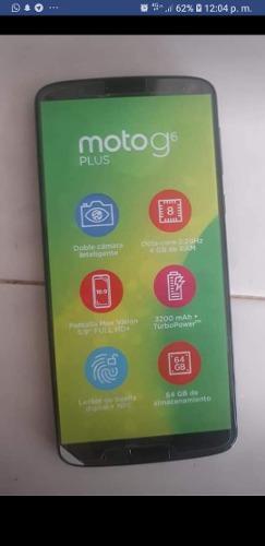 Motorola g6 plus para reparar no detecta sim