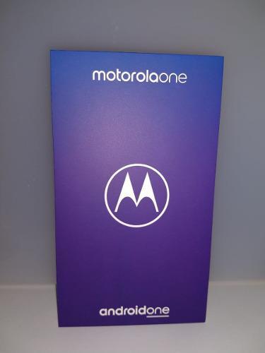 Motorola one 64gb, 3 ram.. sellado