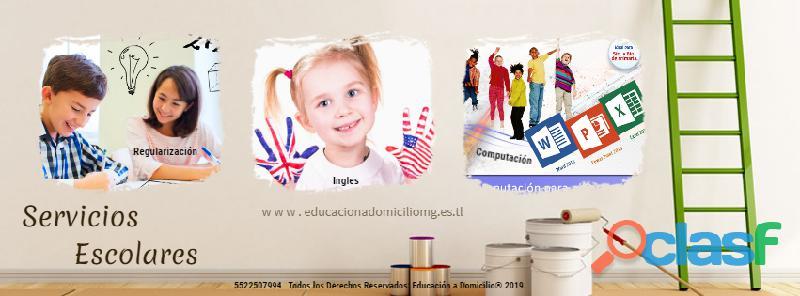 Clases de inglés para escolares