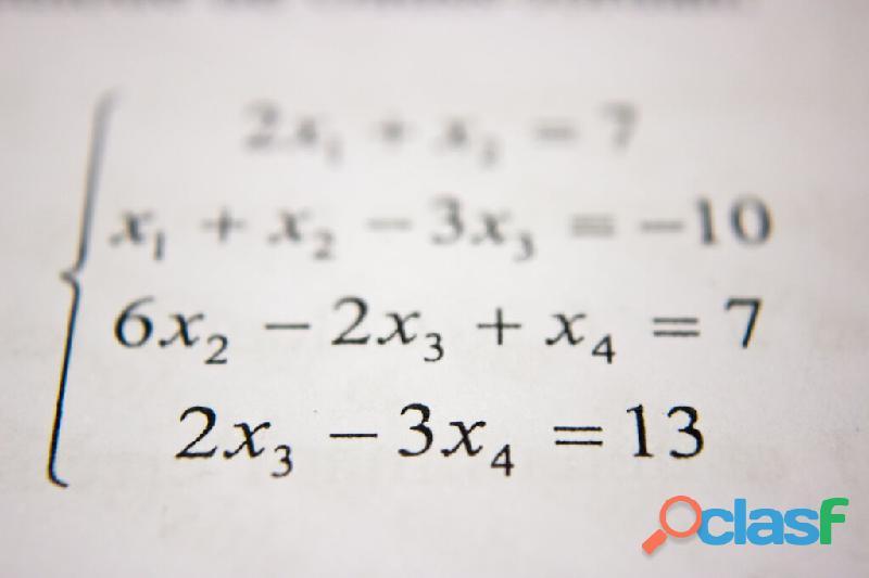 Clases de regularización , matemáticas.