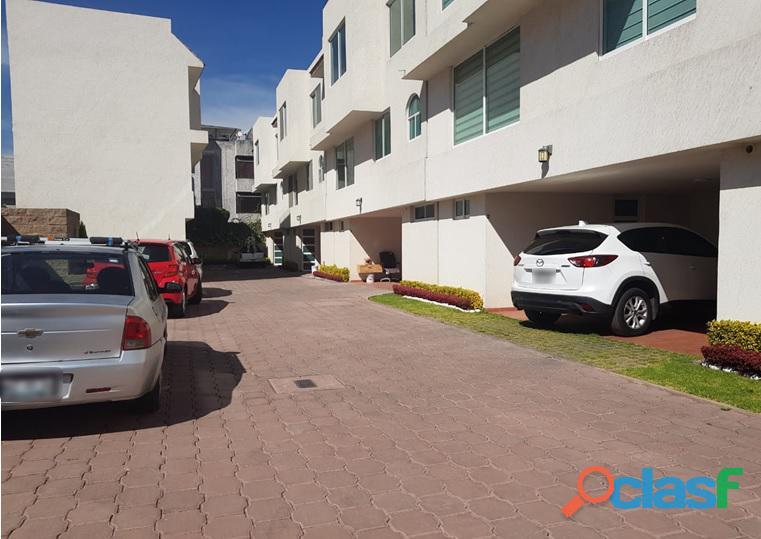 Estrene! casa en condominio para rentar en villa coapa
