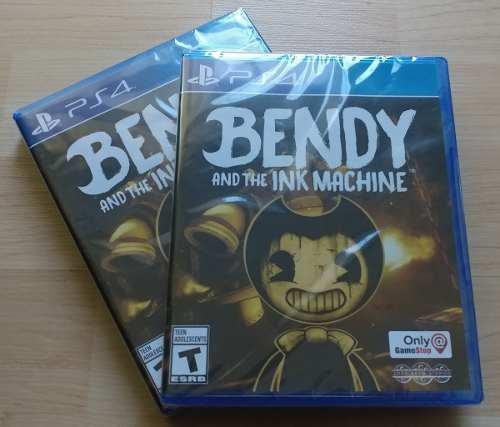 Bendy and the ink machine - edición exclusiva gamestop -