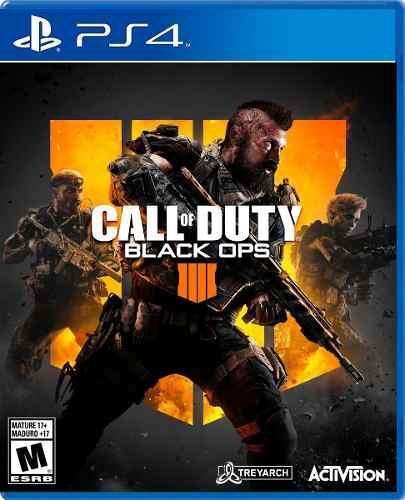 Call of duty black ops 4 para ps4. nuevo y sellado.
