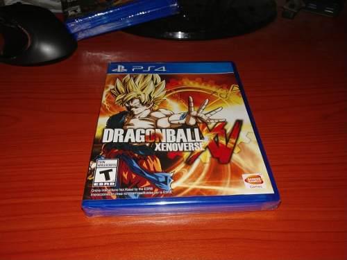 Dragon ball xenoverse playstation 4 nuevo y sellado