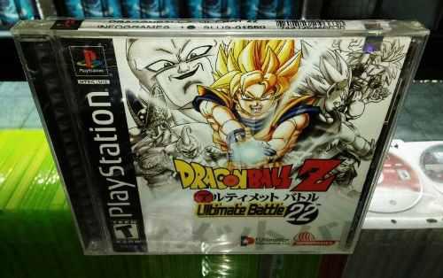Dragon ball z ultimate battle22 psone nuevo (hit games shop)