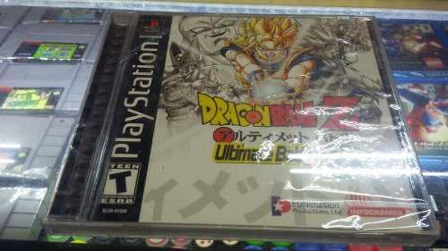 Dragonball z ultimate battle 22 ps one sellado