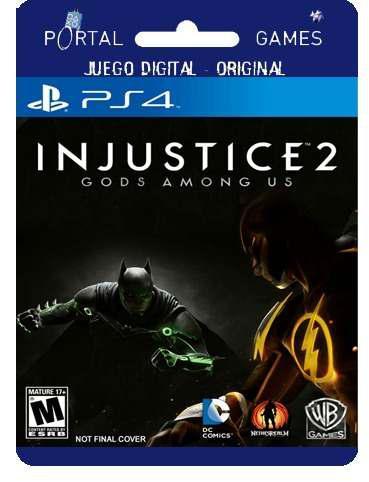 Injustice 2 digital legendary edition ps4