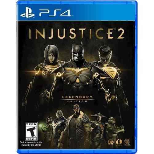 Injustice 2 legendary edition ps4 nuevo