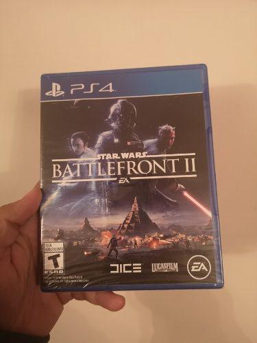 Juego ps4 battlefront 2 star wars nuevo sellado