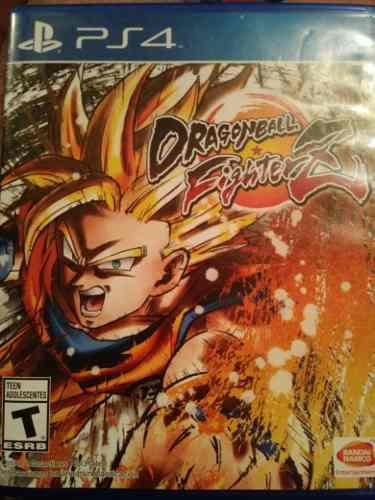 Juego ps4 dragon ball figterz