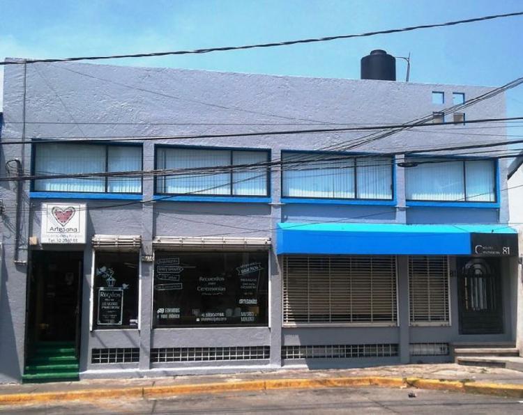 Local comercial con oficinas en renta cd. satelite