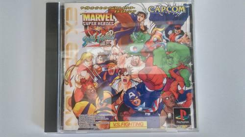 Marvel super heroes vs street fighter ex edition playstation