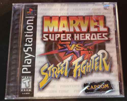 Marvel super heroes vs street fighter ps1 ps2 ps3 nuevo