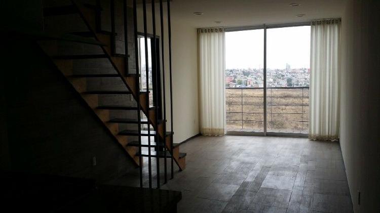 Ph en dos pisos con terraza, 2 rec, 2 bañ, 2 estac.