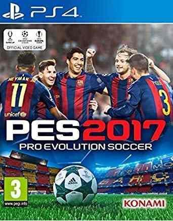 Ps4 - pes 2017 - juego fisico (mercado pago)