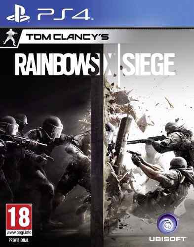 Tom clancy's rainbow six siege ps4 nuevo