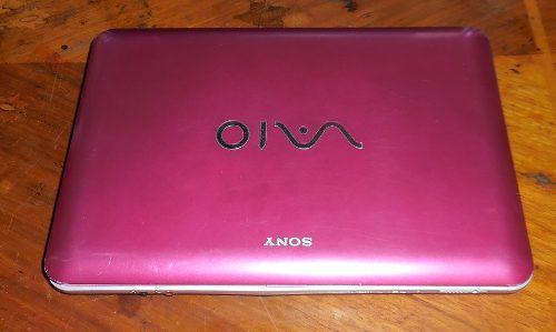 Laptop mini sony vaio vpcm120la para refacciones