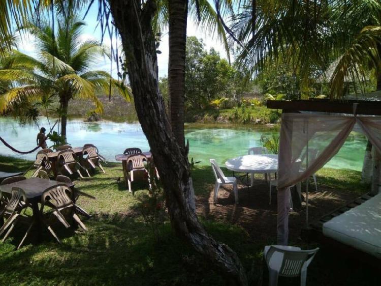 28 Has de Terreno en Venta en Bacalar, Quintana Roo