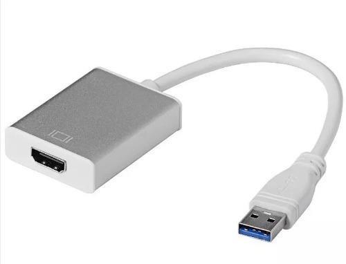 Adaptador Convertidor Usb 3.0 A Hdmi Full Hd 1080p Win10 8 7