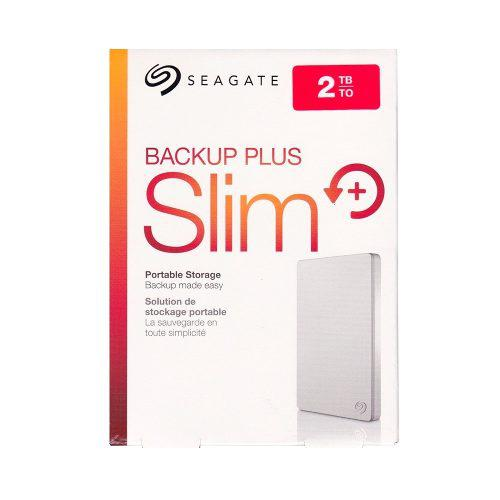 Disco duro externo seagate 2tb backup plus slim blanco