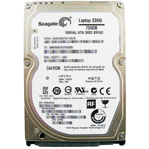 DISCO DURO PARA LAPTOP HYBRIDO SSHD 750GB SEAGATE ST750LM000 segunda mano  México (Todas las ciudades)