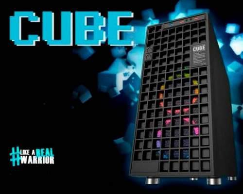 Gabinete Eagle Warrior Cube Negro S/f Atx/microatx