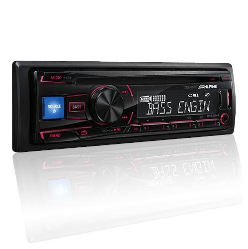 Auto estereo alpine cde-150 cd usb mp3 ipod aux mejor q sony