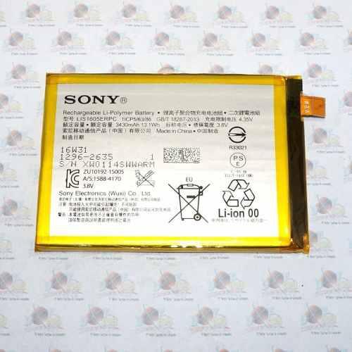 Bateria original sony xperia z5 premium lis1605erpc 3430 mah