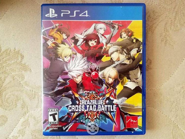 Blazblue Cross Tag Battle Videojuego PS4
