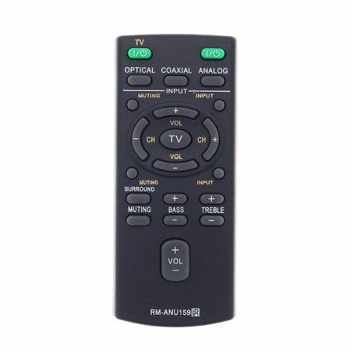 Control remoto sistema de teatro sony rm-anu159 sa-ct60
