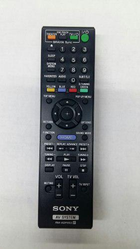 Control remoto sony rm-adp053 bdv, blu-ray, home theater