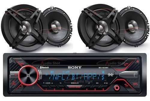 Estéreo sony mex-n5200bt con 4 bocinas sony