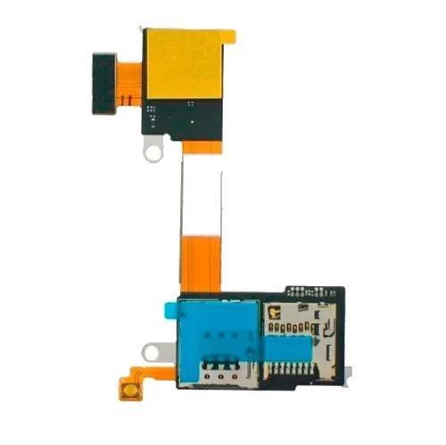 Flex lector sim micro sd sony xperia m2 d2303 d2305 d2306