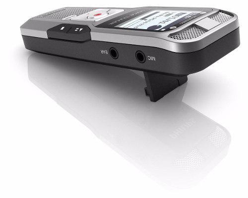 Grabadora de voz digital 2gb philips recargable mp3 1411kbps