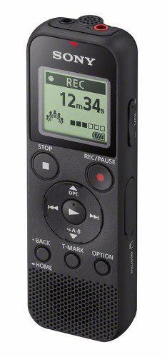 Grabadora digital de voz sony icd px370 4gb 159 hrs usb mp3