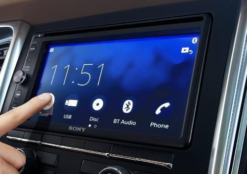 Pantalla sony xav-ax200 mod2018 bluetooth waze android siri
