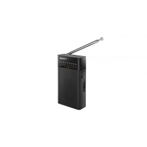 Radio am/fm/bateria aax2/entrada audifonos icfp26