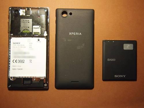 Sony xperia j bateria nueva y original