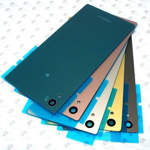 Tapa trasera sony xperia z5 + adhesivo original esmerilado