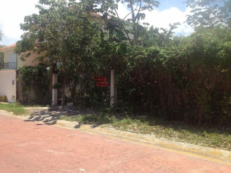 Terreno en venta cancún centro en calle punta allen s.m. 16