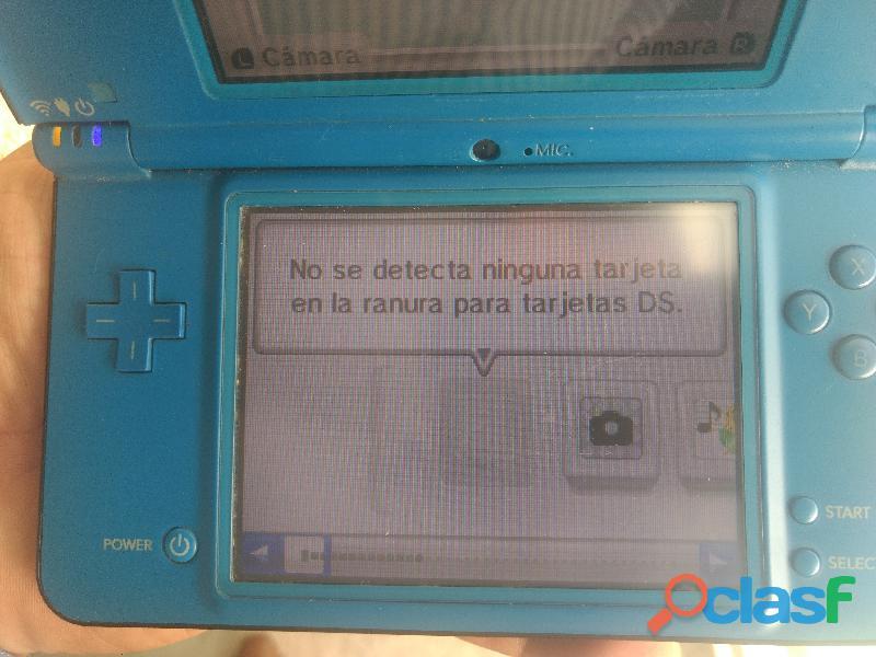 Nintendo ds xl con juego