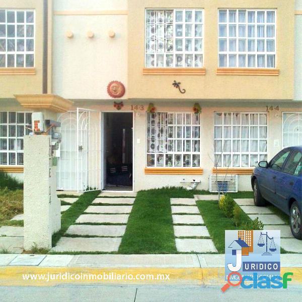 Se vende bonita casa en héroes chalco