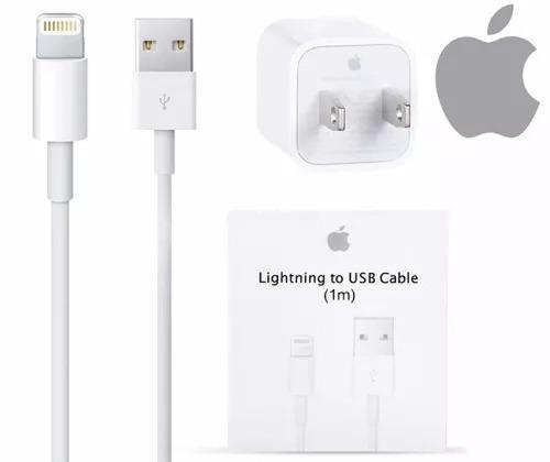 Cable usb cargador original apple lightning iphone 5 6 7 8 x