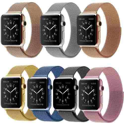 Correa apple watch acero inoxidable serie 4 40mm/44mm
