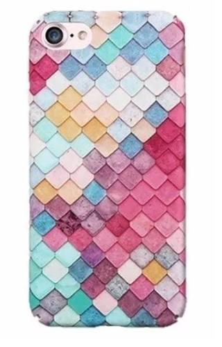 8e9936a7c89 Funda case carcasa 3d multicolor sirena iphone x 6 6s 7 plus